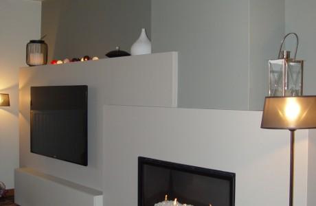 chauffage meuble blanc
