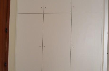 armoire blanche 6 portes
