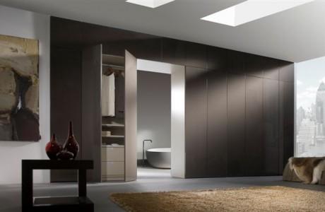 armoire brun